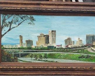 1960s San Diego Cityscape.