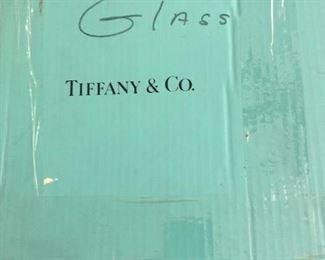 Tiffany champagne glasses