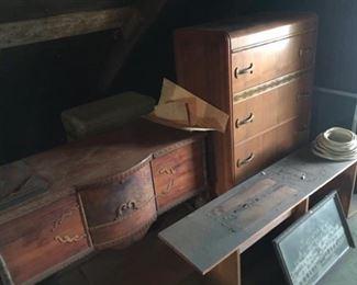 Cedar Chest and Dresser