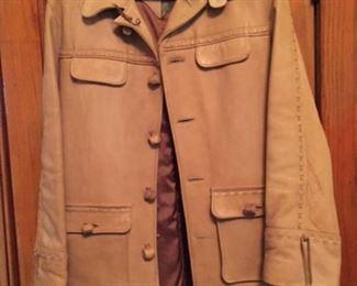 Marlboro Jacket- Heavy leather