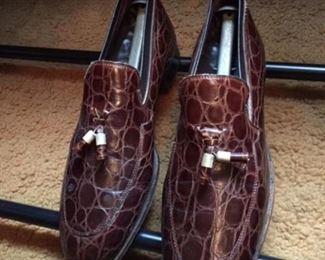Vintage Alligator Shoes