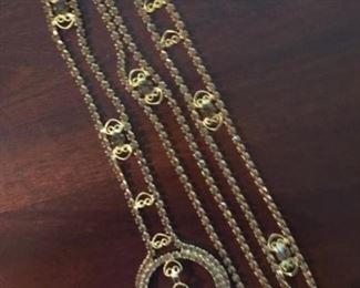 1970s jeweled Belt