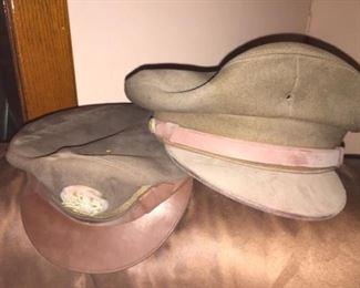 WWII Army Uniform Hats