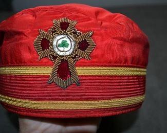 Commander of Freemasons cap.