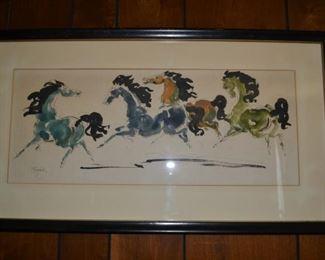 Charles Burdick - ink/watercolor