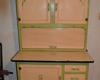 Hoosier kitchen Cabinet - complete with flour bin