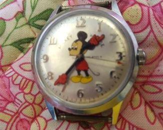 1970's Mickey Watch - works!