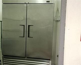 Almost new True freezer.