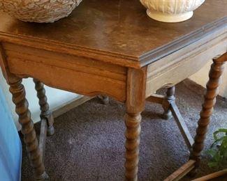 Octagon Vintage Table