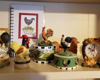 A Rooster/Chicken Collection