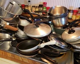 Lots of Pots and Pans...