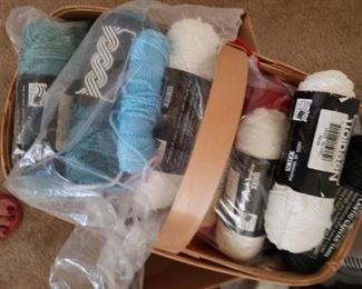 Yarns, threads and Embroidery Threads