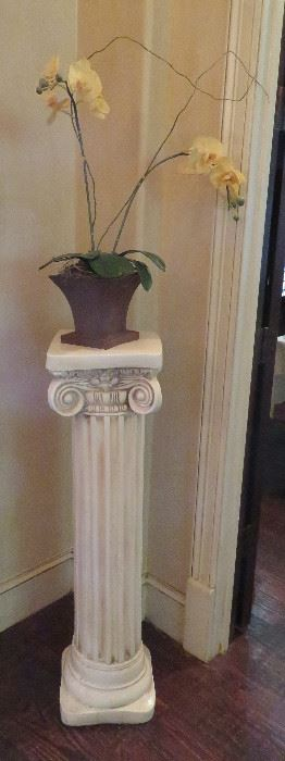 Ionic style column pedestal