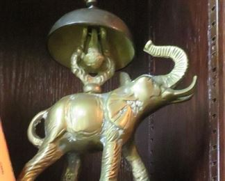 Elephant hotel style bell