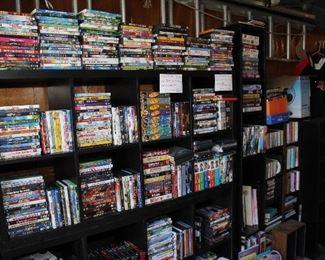 DVD CD VHS
