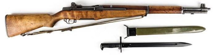 Lot 198 - Gun Springfield M1 Garand Semi Auto Rifle in 30-06