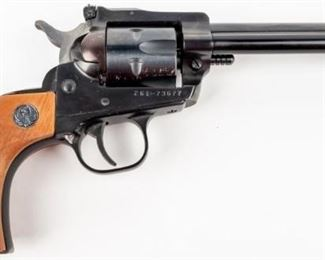 Lot 6 - Gun Ruger Single Six Single Action Revolver in 22