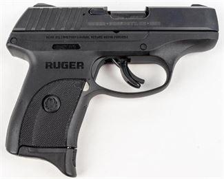 Lot 9 - Gun Ruger EC9S Semi Auto Pistol in 9MM