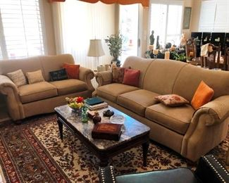 LazyBoy Sofa and Loveseat in pristine condition