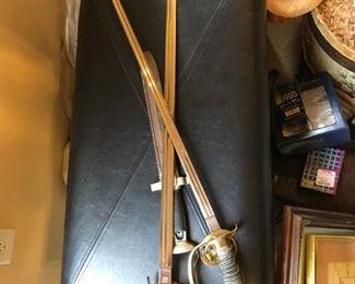 World War II Officer's Swords