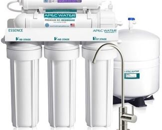 APEC Top Tier Alkaline Mineral Ph+ Ultra Safe Reverse Osmosis Drinking Water Filter System (ESSENCE ROES-PH75)