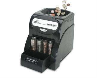Royal Sovereign 1-Row Coin Sorter (QS-1AC)