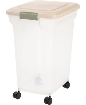 SET OF 5 55 Quart Airtight Pet Food Container