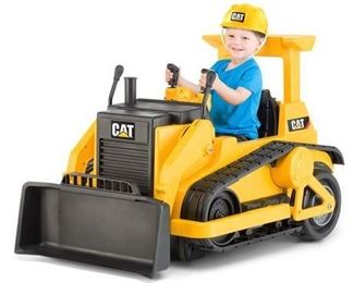 Kid Trax CAT Bulldozer 12-Volt Battery-Powered Ride-On