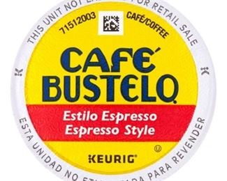 Cafe Bustelo K-Cup Packs, Espresso Style, 72 Count