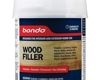 6 cans of 3M Bondo Home Solutions Wood Filler