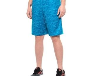 (large, Bright Blue Thunder) - Mission Men's Vaporactive Element 23cm Training