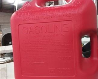 5 Gallin Plastic Has Can No Spout