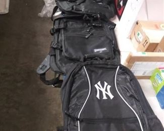 2 EastWest Backpacks and 1 New York Yankees Backpack