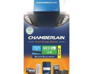 Chamberlain Smartphone-Controlled Belt Drive Garage Door Opener