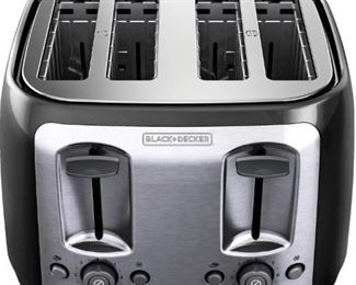 Black and Decker 4-Slice Toaster