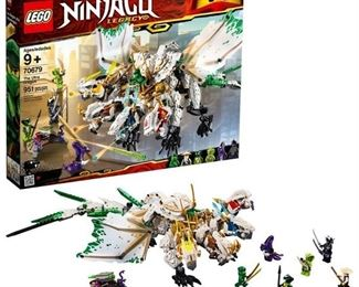 LEGO Ninjago The Ultra Dragon 70679, Multicolor