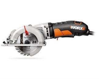 Circular Saws: Worx Saws - Circular 4 Amp 4-1/2 in. Corded WorxSaw WX429L