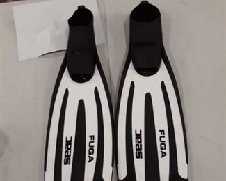 Seac Fuga Diving Fins White, 36/37