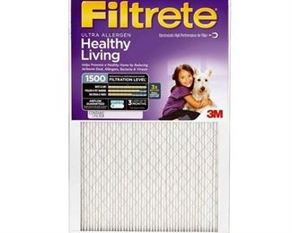 S3T OF 4 3M 2000DC-6 Filtrete™ Ultra Allergen Furnace Filters - 6 Pack Do Not Use