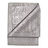 SET OF 4 TEKTON 6300 9-Foot by 12-Foot Silver Tarp