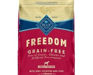 Blue Buffalo Freedom Adult Beef Dry Dog Food - 11lb
