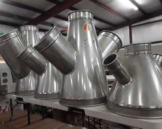 Assortment of Nordfab Ducting