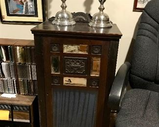 Antique Cabinet Radio