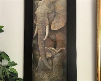 Ruanne Manning Elephant Print