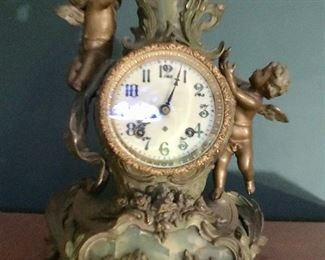 Antique Ansonia Cherub Clock
