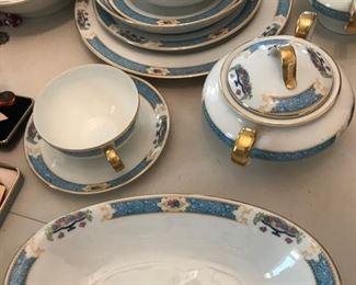 Bavarian china set of 8