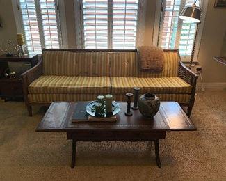 Mid Century sofa, 82 inches long