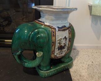 Elephant Tables-Ceramic (a pair)