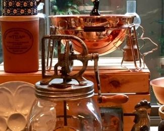 Antique Churn and More Copper