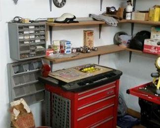 Tool Box, Sand Blaster, License Plates.